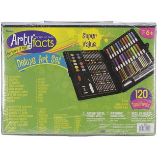 Artyfacts Portable Studio Deluxe Art Set120pcs