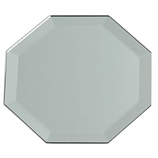 Octagon Glass Mirror W/Bevel Edge Bulk12in
