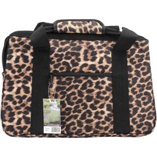 JanetBasket Eco Bag18inX10inX12in Leopard