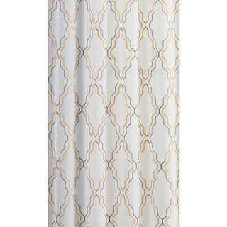 VCNY Dixon Embroidered Sheer Panel Pair