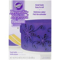 Decorator Preferred Fondant 24ozPurple