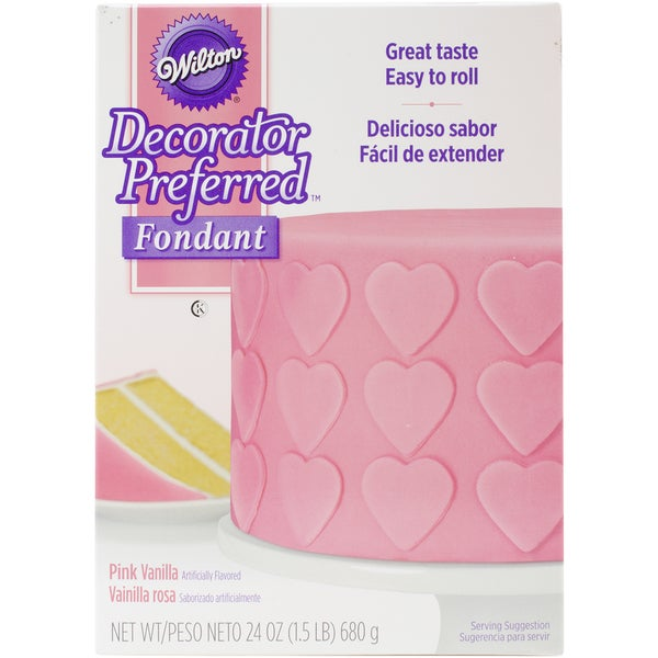 Decorator Preferred Fondant 24ozPink