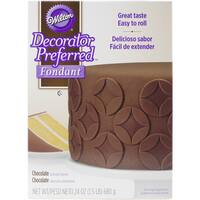 Decorator Preferred Fondant 24ozChocolate