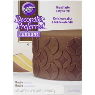 Decorator Preferred Fondant 24ozChocolate