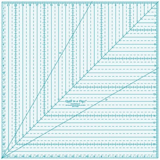 Quilt In A Day Square Up Ruler22inX22in
