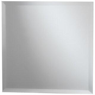 Square Glass Mirror W/Bevel Edge Bulk8in