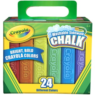 Crayola Sidewalk Chalk 24pc