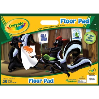 Crayola Floor Pad 22inX16in30 Sheets