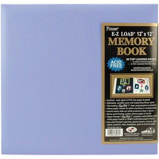 Pastel Leatherette Post Bound Album 12inX12inLavender