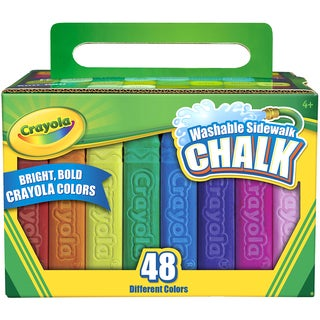 Crayola Sidewalk Chalk 48pc