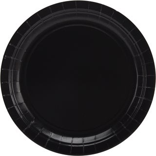 Big Party Pack Dinner Plates 9in 50/PkgBlack