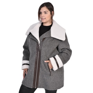 Nuage Morgan Wool Jacket ( Plus Size)