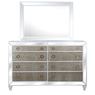 Magnussen B2935 Monroe White Finish Wood Drawer Dresser