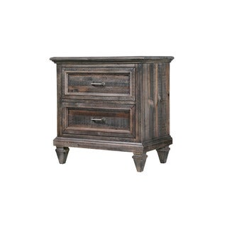 Magnussen B2590 Calistoga Black Finish Pine Drawer Nightstand