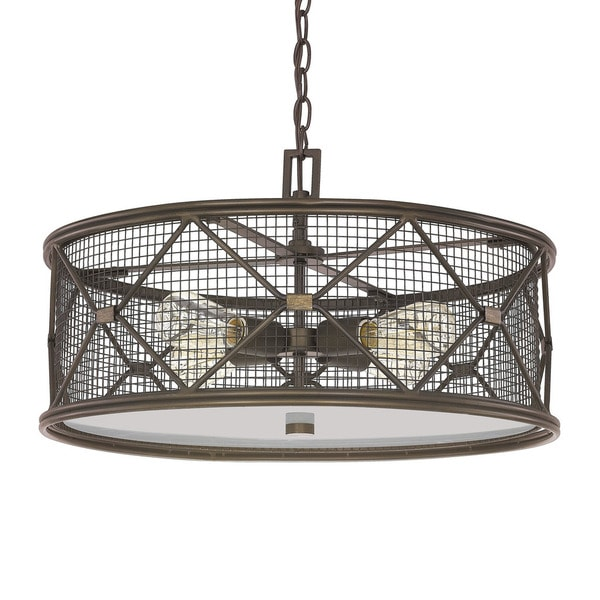 Capital Lighting Jackson Collection 4 Light Oil Rubbed Bronze Pendant Nice Design