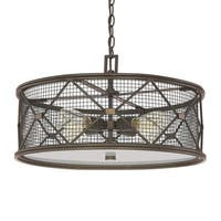 Capital Lighting Jackson Collection 4-light Oil Rubbed Bronze Pendant