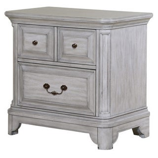 Magnussen B3341 Windsor Lane Drawer White Finish Wood Nightstand