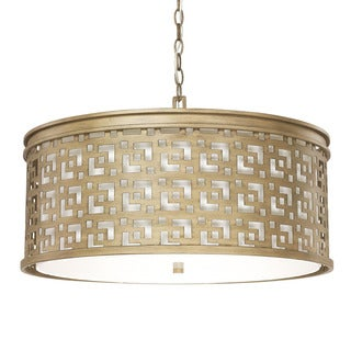 Capital Lighting Jasper Collection 5-light Brushed Gold Pendant