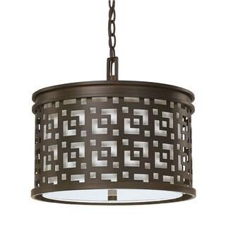 Capital Lighting Jasper Collection 3-light Burnished Bronze Pendant