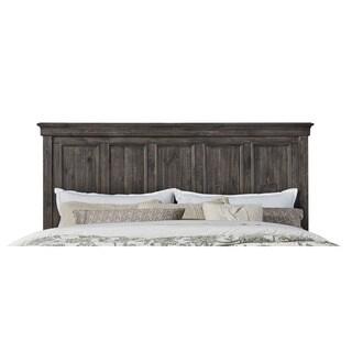 Magnussen B2590 Calistoga Black Finish Wood King-sized Panel Bed Headboard