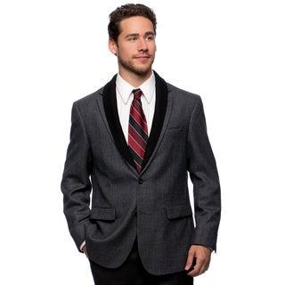 Prontomoda Europa Men's Grey Lamb's Wool Sportcoat (More options available)