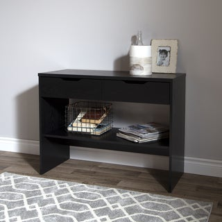 South Shore Flexible Console Table with Two Drawers