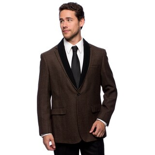 Prontomoda Europa Men's Vicuna Lamb's Wool Sportcoat (More options available)