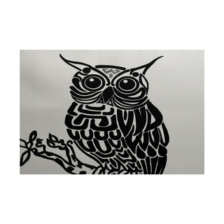 Hootie Animal Print Rug (2' x 3')