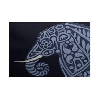 Inky Animal Print Rug (2' x 3')