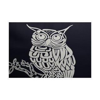Hootee Animal Print Rug (5' x 7')