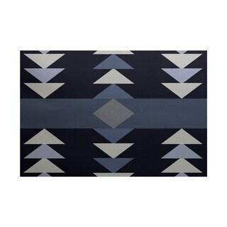 Sagebrush Geometric Print Rug (2' x 3')