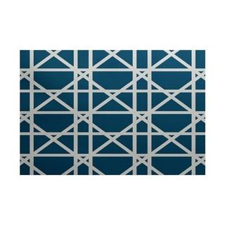 Trellis Geometric Print Rug (2' x 3')