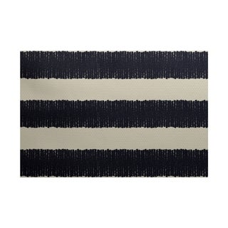 Twisted Stripe Print Rug (2' x 3')
