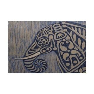 Frennky Animal Print Rug (5' x 7')