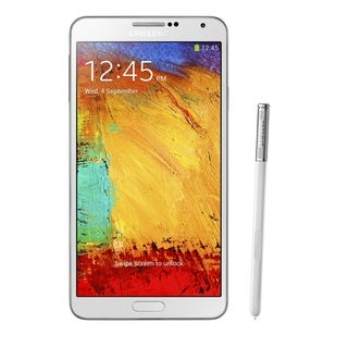 Samsung Galaxy Note 3 N900A 32GB Unlocked GSM 4G LTE Certified Refurbished Android Cell Phone - White