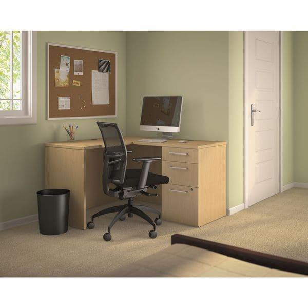 Bush Business Furniture 300 Series Shell Desk In L