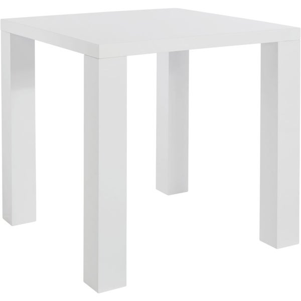 Scandinavian Lifestyle Sky Dining White High Gloss Square Table   Free  Shipping Today   Overstock.com   17628931