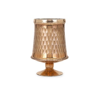 Lydia Copper Glass Pedestal - Small