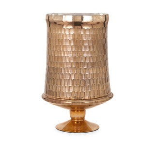 Lydia Copper Glass Pedestal - Large