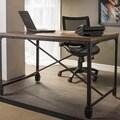 Carbon Loft Edelman Antique Bronze Wood/Metal Home Office Desk