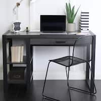 48-inch Charcoal Computer Desk