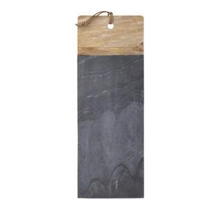 Dahlia Slate and Wood Cheese Board