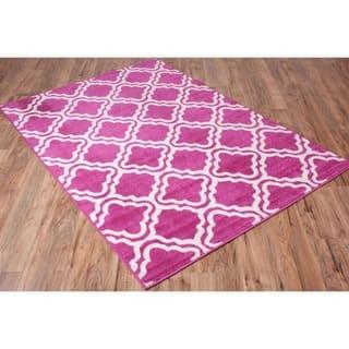 Well-woven Bright Modern Lattice Trellis Geometric Area Rug (7'10 x 10'6)|https://ak1.ostkcdn.com/images/products/10549443/P17629058.jpg?impolicy=medium
