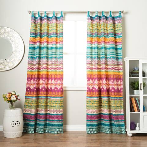 Greenland Home Fashions Southwest 4-piece Window Panel Pair