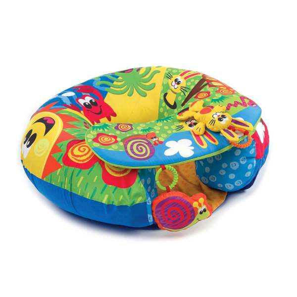 Playgro Sit N Play Inflatable Ring With Play Tray Free