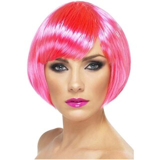 Fashion Synthetic Hair Costume Wigs (Option: Pink)