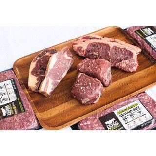 Arizona Grass Raised Beef Co Grill Package