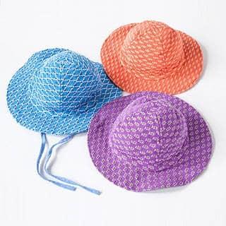 Handmade Florecita Baby Sun Hat (Guatemala) https://ak1.ostkcdn.com/images/products/10550508/P17629975.jpg?impolicy=medium