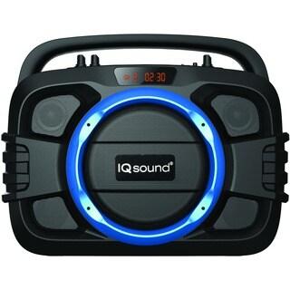 Supersonic SoundBox IQ-2400BT Speaker System - Portable - Battery Rec