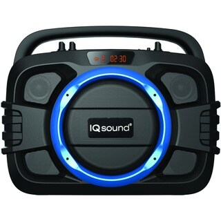 Supersonic SoundBox IQ-2400BT Speaker System - Portable - Battery Rec